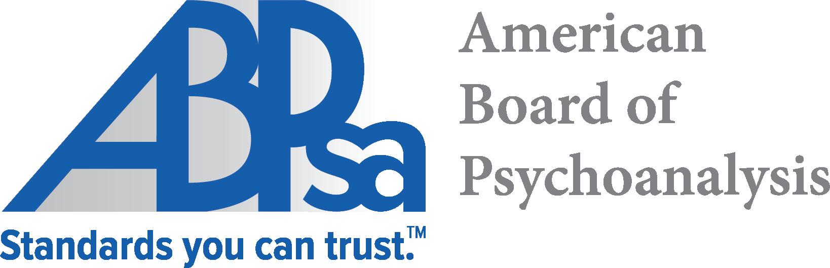 American Board Of Psychoanalysis Certification